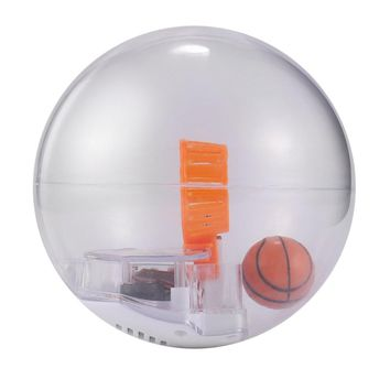 Kids Electronic Basketball Game Reduce Stress Toy Hand Basketball Practice Machine Shoot Game Toys with LED Light and Music