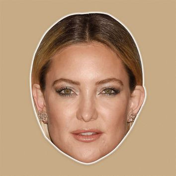 Confused Kate Hudson Mask - Perfect for Halloween, Costume Party Mask, Masquerades, Parties, Festivals, Concerts - Jumbo Size Waterproof Laminated Mask