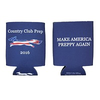 Make America Preppy Again Can Holder by Country Club Prep