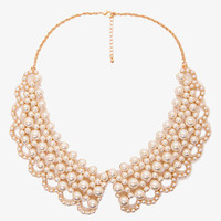 Pearlescent-Beaded Collar
