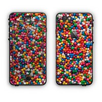 The Tiny Gumballs Apple iPhone 6 Plus LifeProof Nuud Case Skin Set