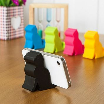 Cute Mini Cat Shape Phone & Tablet Mounts / Stand / Holder