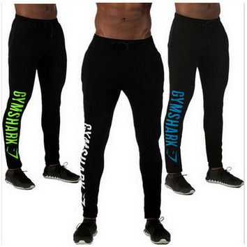 Men Stretch Gym Pants Skinny Pants [6572775047]