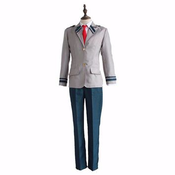 Boku no Hero Academia Cosplay Costume My Hero Academia Asui Tsuyu  Bakugou Katsuki TODOROKI SHOTO School Uniform
