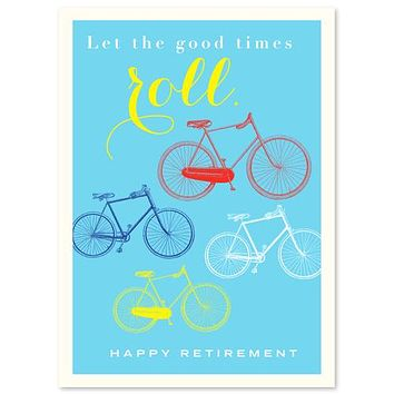 Retirement Congratulations Bicycles