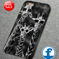 Giraffe Glass for iphone, ipod, samsung galaxy, HTC and Nexus Phone Case