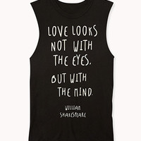 Shakespeare Muscle Tee
