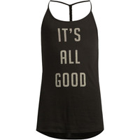 Roxy It's All Good Girls Tank Black  In Sizes