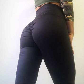 Sport Fitness Sexy Leggings Women Workout High Waist Elastic Leggings Female Activity Sportswear Activewear Gym Clothes
