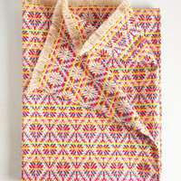 Creatively Connected Picnic Blanket in Geometric | Mod Retro Vintage Decor Accessories | ModCloth.com