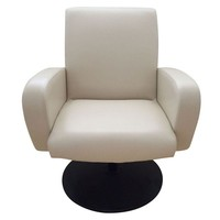 Pre-owned Synthetic Leather Swivel Chair