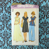 Simplicity Sewing Pattern 7341 Size 16-18 Miss from 1976