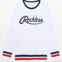 Young and Reckless Penalty Long Sleeve Jersey T-Shirt at PacSun.com