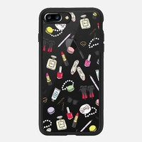 iPhone 7 Plus Case (Jet Black), Girly Things Clear by EmmaKisstina  | Casetify (iPhone 6s 6 Plus SE 5s 5c & more)