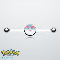 Great Ball Pokemon™ Industrial Barbell