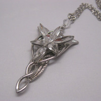 The Lord of the Rings Arwen Evenstar Crystal Necklace