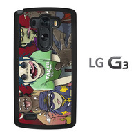 Gorillaz Wallpaper A1539 LG G3 Case