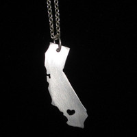 California Love Necklace with 925 Chain by Windsday on Etsy