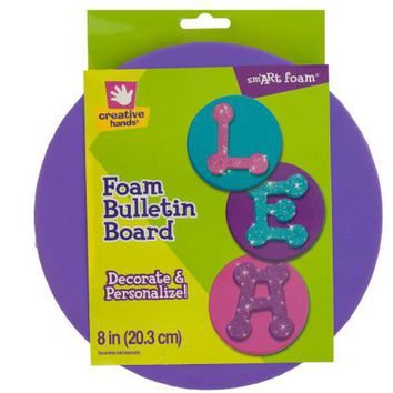 Round Foam Bulletin Board ( Case of 48 )