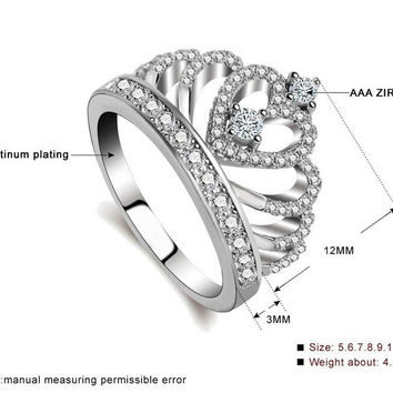 Crown Shaped Ring