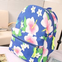 Fashion Beauty Floral Print Backpack