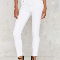 Citizens of Humanity Rocket High Rise Skinny Jean - White