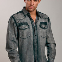 Smash® Washed Denim Jean Shirt for Men | UnderGear