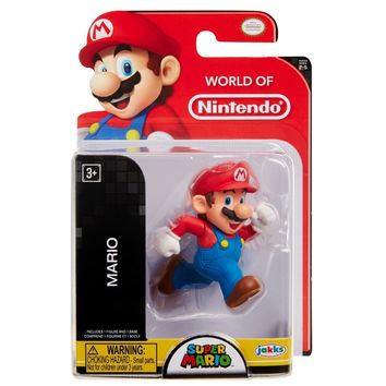 "Mario 2.5"" Mini Figure World of Nintendo NEW Super Mario"