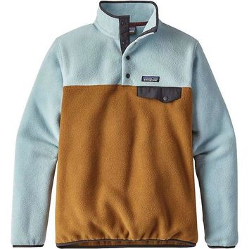 ONETOW Patagonia Women's Lightweight Synchilla Snap-T Pullover