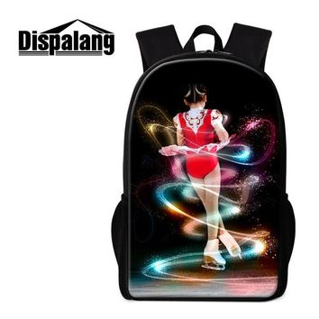 Boys bookbag trendy Dispalang Women's Schoolbag Backpack for Girl Boys Skating Print  for Children Design Fashion Rucksack for Teens Mochilas AT_51_3