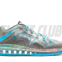 "air max lebron 10 low ""swamp thing"" - tarp green/neo turq-psn green 
