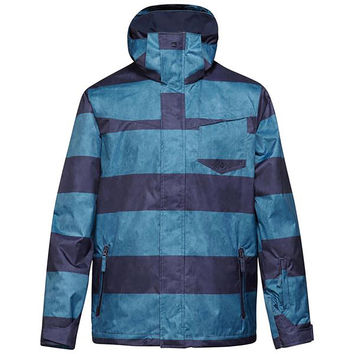 Quiksilver Men's Printed Mission Snowboarding Jacket