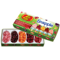 Jelly Belly 5 Flavors Snapple Jelly Beans Sampler: 4.25-Ounce Gift Box