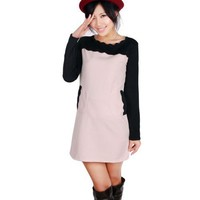 Long Sleeve Clothing Women Autumn New Style Korean Style Vintage As Picture Cotton Dress M/L @WH0424ap $23.44 only in eFexcity.com.