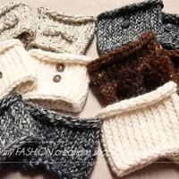 women's crochet Boot cuffs-Boot Toppers-Boot Socks-Leg Warmers-Womens/Teens Boot Cuffs-Textured and Stretchy BOOT cuffs-TOPPERS