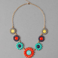 ASHBURY PARK FLORAL NECKLACE