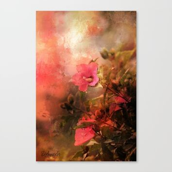Bliss Canvas Print by Theresa Campbell D'August Art