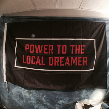 Power To The Local Dreamer Twenty One Pilots Flag