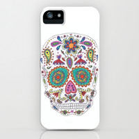 Sugar Skull iPhone & iPod Case by Taylor Halle | Society6