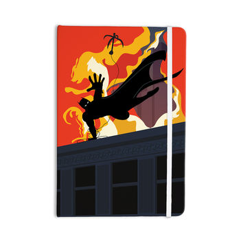 """Kevin Manley """"Prodigal Son"""" Batman Fire Everything Notebook"""