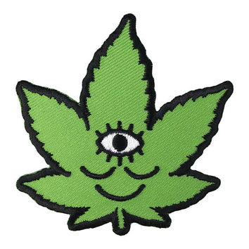 Wokeface Tokeface Third Eye Weed Patch