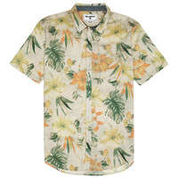 Billabong Men's Spinner Floral Woven Shirt