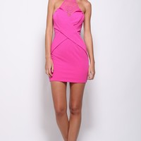 Mind Games Dress Pink