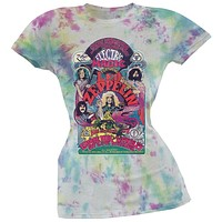 Led Zeppelin - Electric Magic Juniors Tie Dye T-Shirt