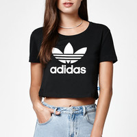 adidas Slim Cropped T-Shirt at PacSun.com