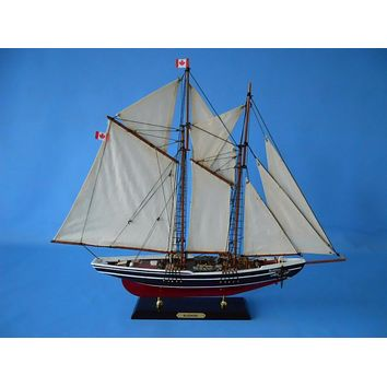 Wooden Bluenose Limited Model Sailboat 25""