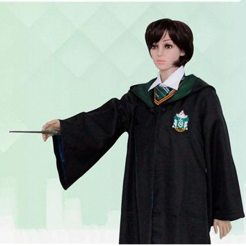 Children's Clothing Gryffindor Harry Potter School Uniform Cape Magic Gongs Halloween Animation COSPLAY Dress Up Clothing L727