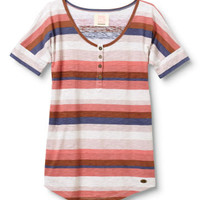 Sunken Stripe Shallows Tee - QUIKSILVER