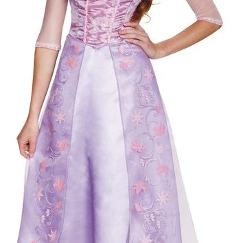 Rapunzel Deluxe Adult 8-10 Beautiful Costume