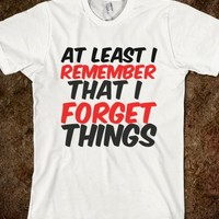 FORGET THINGS